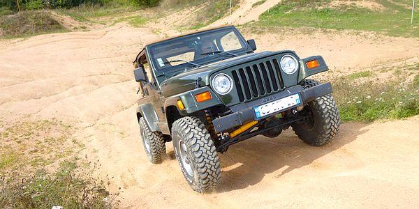stage de conduite tout-terrain jeep avec l'école de pilotage 3214x4