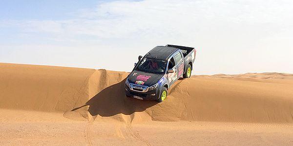 stage de pilotage au maroc preparation rallye feminin
