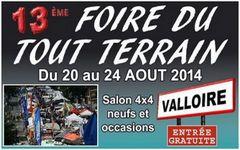 13 ème Foire du tout terrain à Valloire -