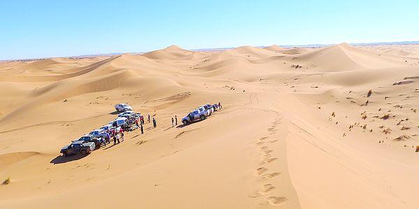 séminaire dans le desert marocain avec 3214x4