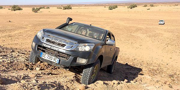 stage de préparation rallye aicha gazelles 3214x4