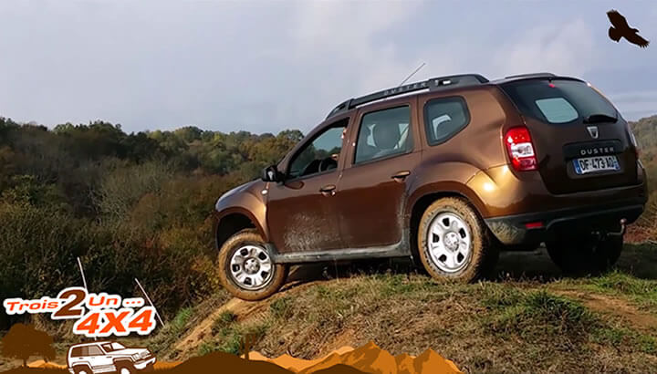 Stage 4x4 SUV Dacia Duster -